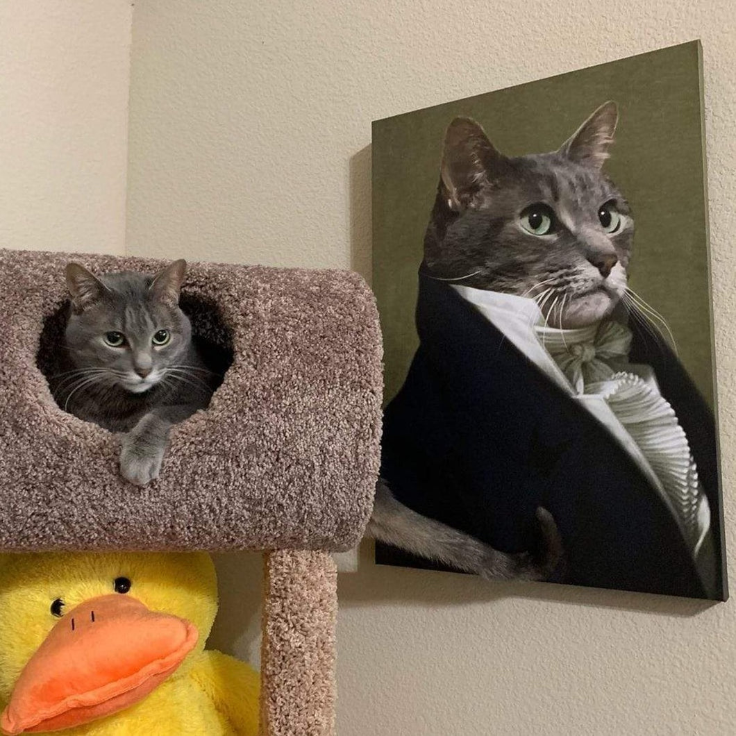 The Ambassador - Custom Pet Canvas
