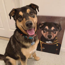 Load image into Gallery viewer, The Admiral - Custom Pet Canvas