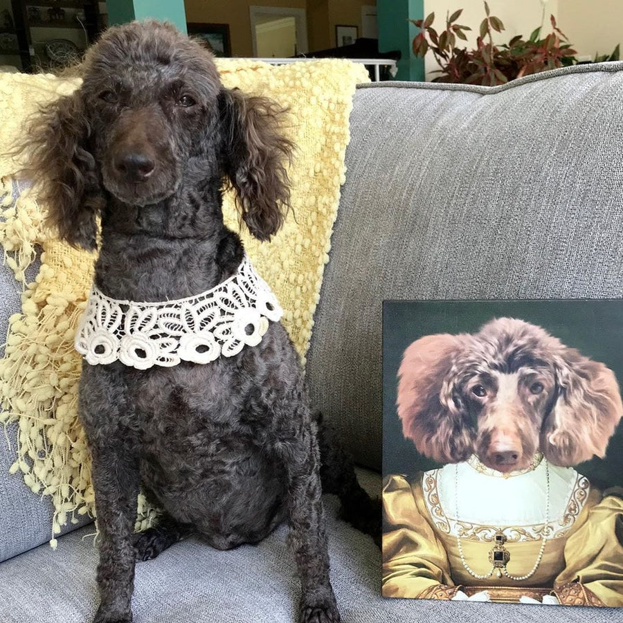 The Golden Girl - Custom Pet Canvas