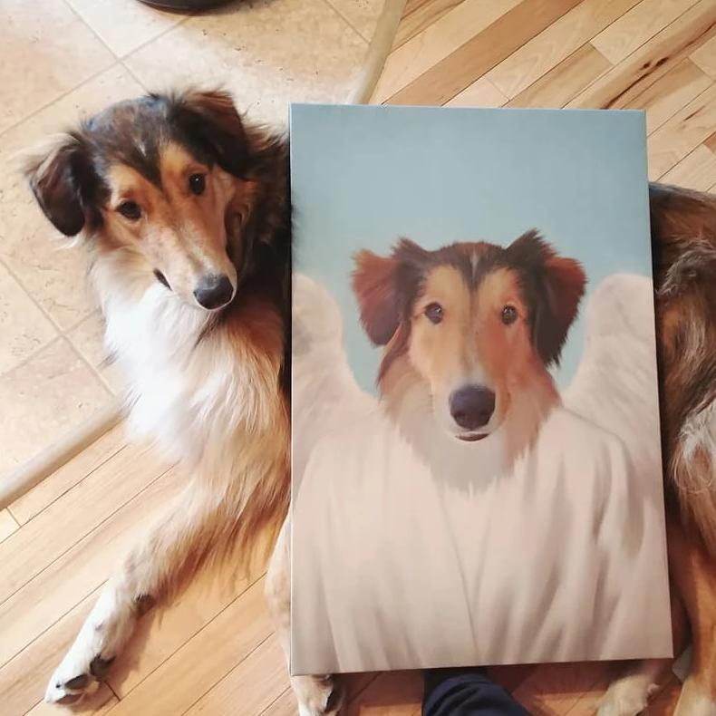 The Angel - Custom Pet Canvas