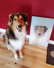 Load image into Gallery viewer, The Angel - Custom Pet Canvas