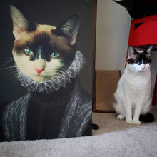 Load image into Gallery viewer, The Countess - Custom Pet Canvas