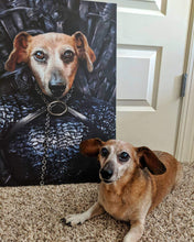 Load image into Gallery viewer, The Lady of the North - Custom Pet Canvas