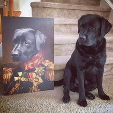 Load image into Gallery viewer, The Veteran - Custom Pet Canvas