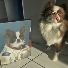 Load image into Gallery viewer, The Astronaut - Custom Pet Canvas