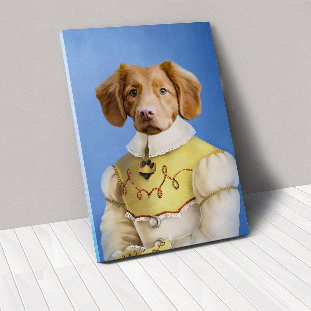 The Southern Belle - Custom Pet Canvas