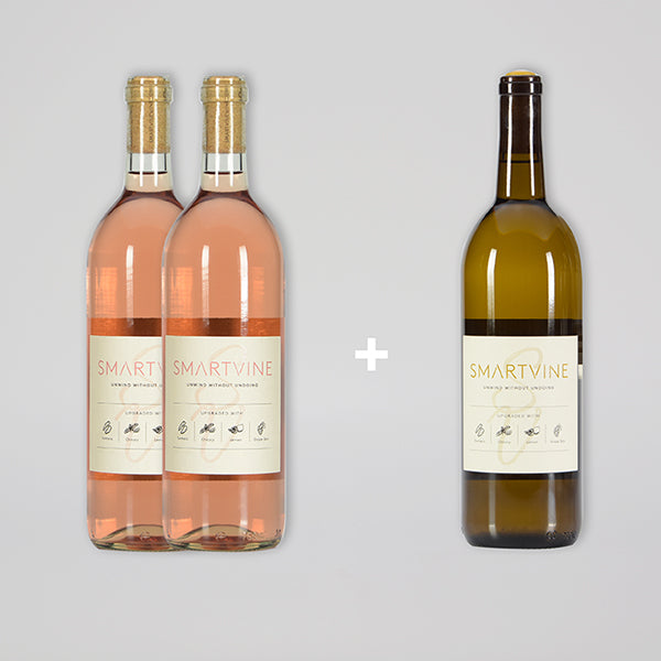 BUY 2 ROSÉ GET 1 WHITE FOR A PENNY