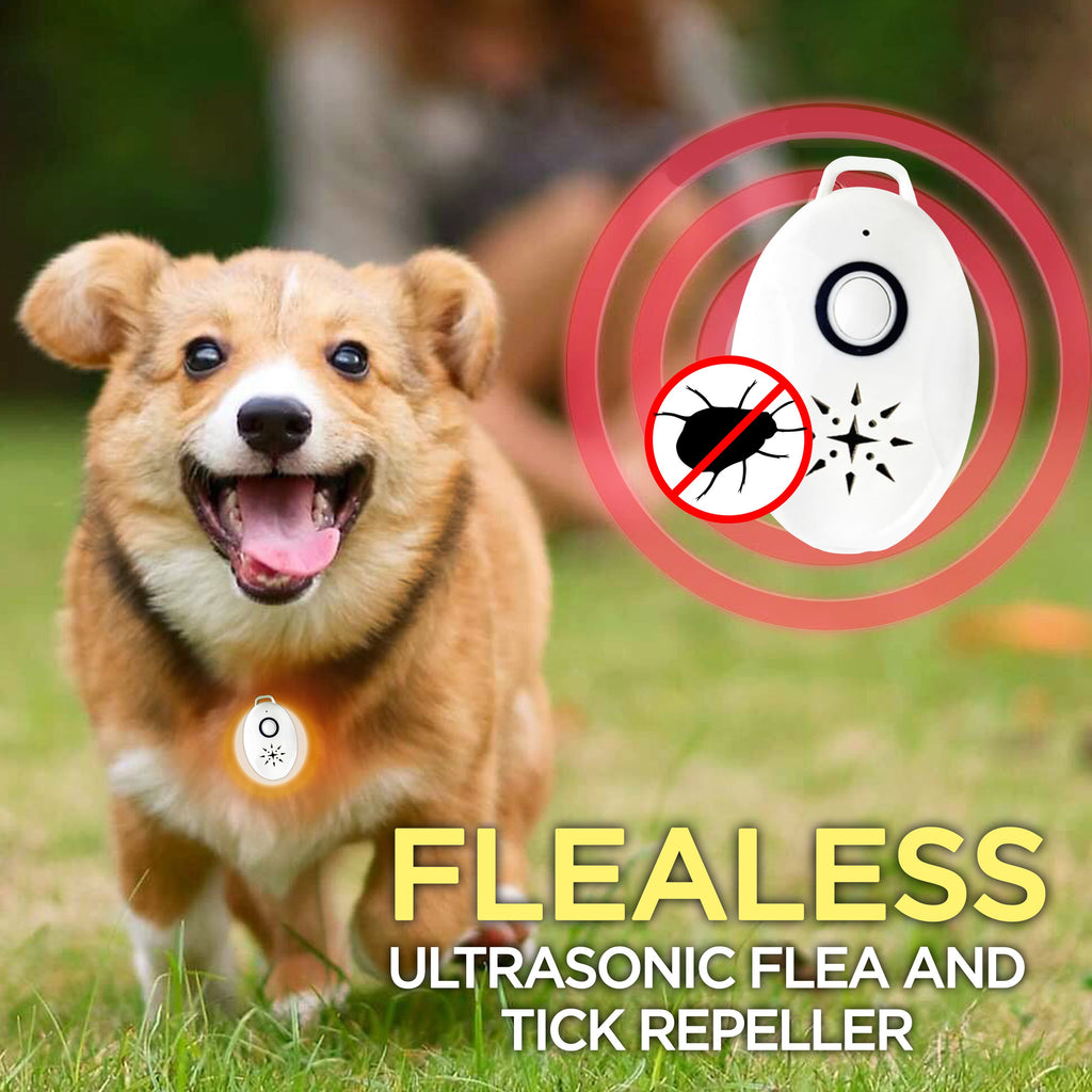 Flealess™ Ultrasonic Flea & Tick Repeller