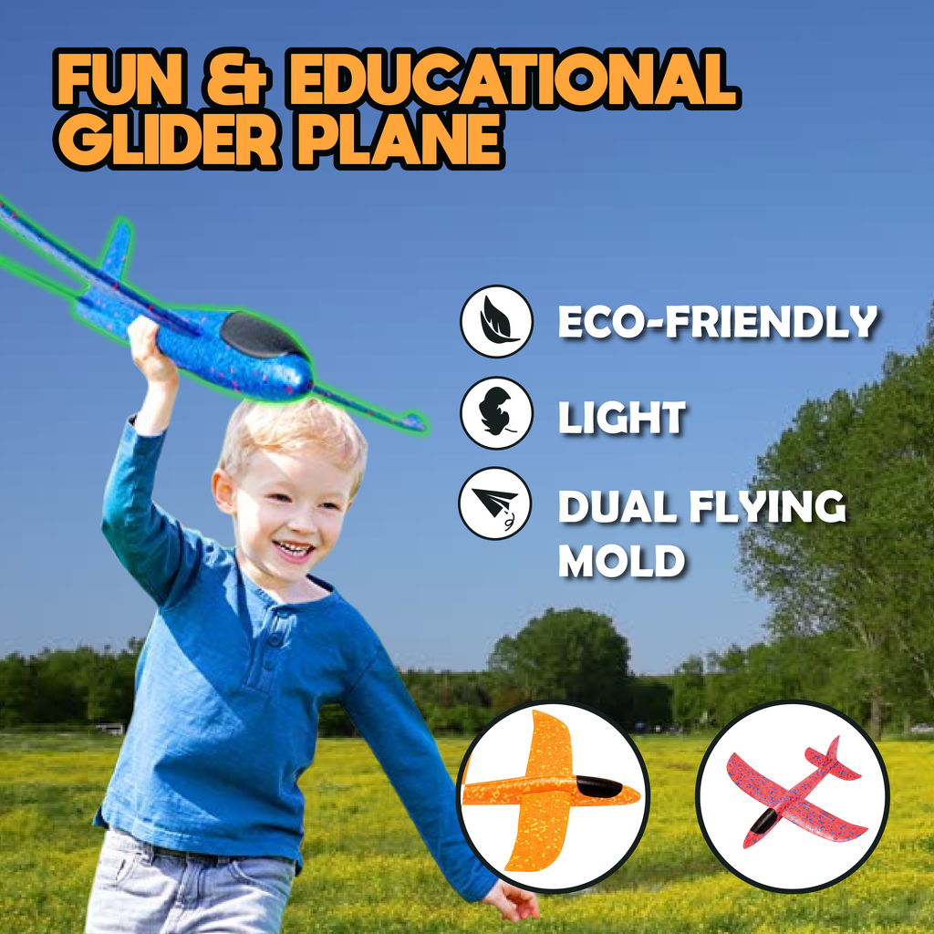 Fun and Educational Glider Plane