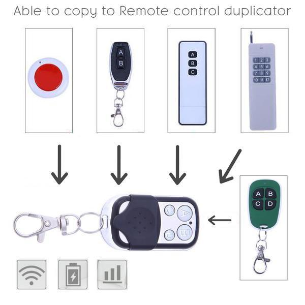 Wireless Remote Control Duplicator