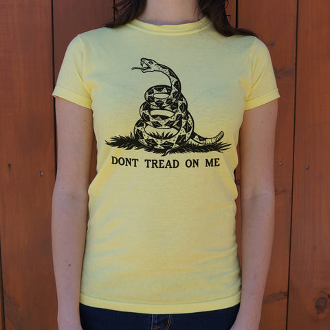 Image of Don't Tread On Me T-Shirt (Ladies)