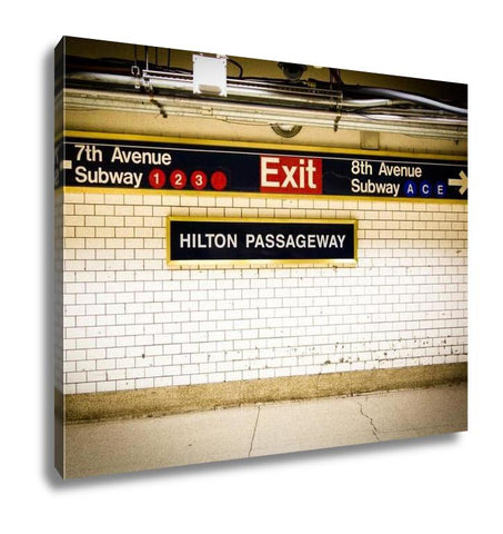 Image of Gallery Wrapped Canvas, Penn Station Subway Nyc