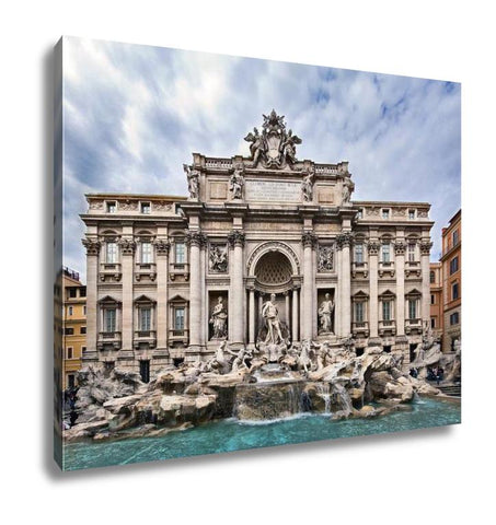 Gallery Wrapped Canvas, Trevi Fountain