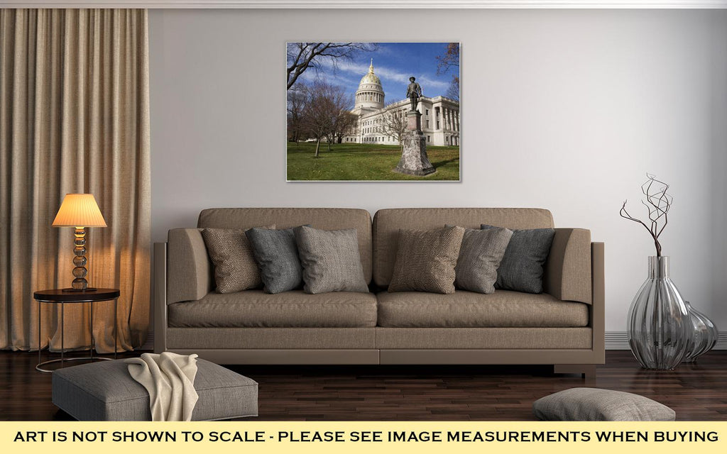 Gallery Wrapped Canvas, Stonewall Jackson And Charleston West Virginia