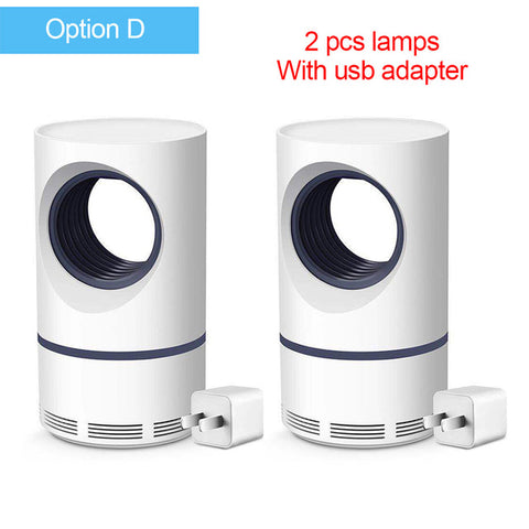 Image of Led Mosquito Killer Lamp UV Night Light USB Insect Killer Bug Zapper Photocatalyst Mosquito Trap Lantern Indoor Repellent Lamp