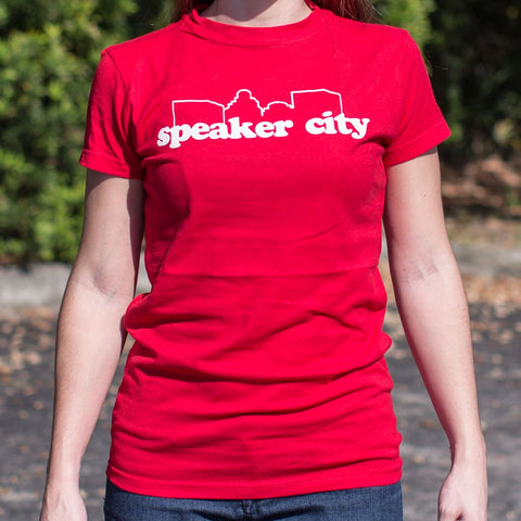 Image of Speaker City T-Shirt (Ladies)