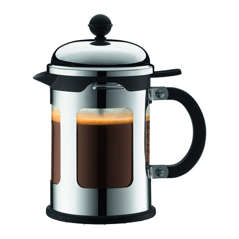 Chambord French Press Coffee Maker, 4 cup, Chrome