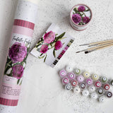 Adult Paint by Number Kit,  Fantastic Fuschia