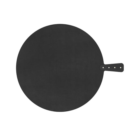 "Riveted Handy Series Round Serving/Cutting Board, 17.5"", Slate"