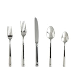 Bistro 18/10 Stainless Steel Flatware Set, Service for 4, 20-Piece