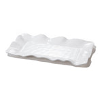 Vida Havana Rectangular Long Platter White