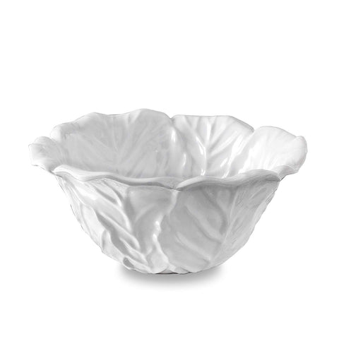 Vida Lettuce Small Bowl White