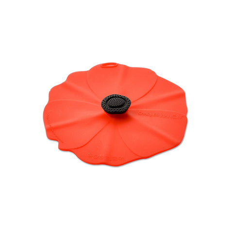 "Airtight Silicone Poppy 4"" Drink Cover set of 2"