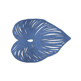 Blue Leaf Double-Sided Placemat