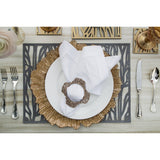 Foliage Double-Sided Placemats, Set of 4