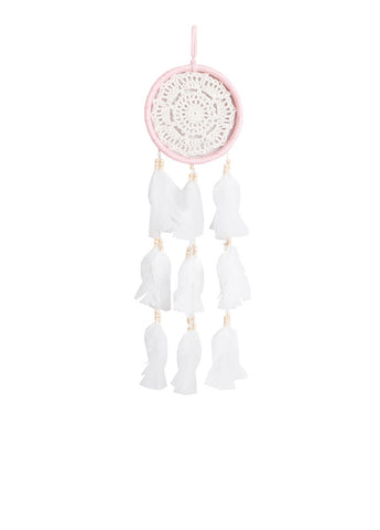 "Dream Catcher Beige and Light Pink - D5.1"" x L19.7"""