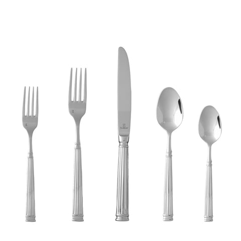 Doria 18/10 Stainless Steel Flatware Set, Service for 4, 20-Piece
