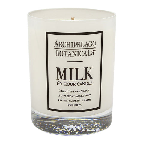 Archipelago Botanicals Milk 60 Hour Candle