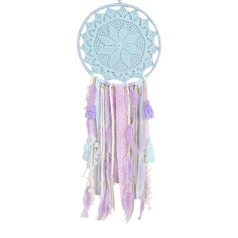 "Dream Catcher Lavender and Green Mint - D13.3"" x L37.4"""