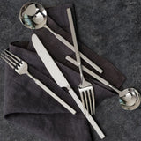 Jaxson 18/10 Stainless Steel Flatware Set, Service for 4, 20-Piece
