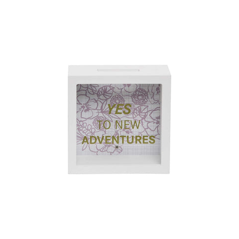 New Adventures Wooden Bank