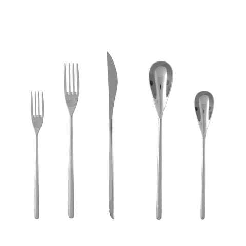 Dragonfly 18/10 Stainless Steel Flatware Set, Service for 4, 20-Piece
