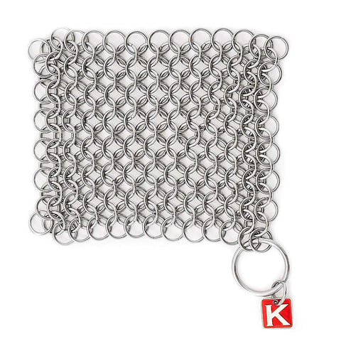 "CM Scrubber 4"" Chainmail Scrubber - For Cast Iron"
