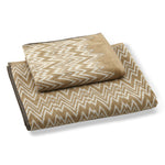 Vanni Bath & Hand Towel Set Beige
