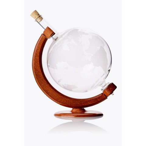 World Globe Decanter - 34oz