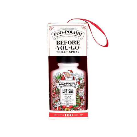 Secret Santa 2 oz  Bottle in ornament box Holiday