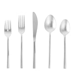 Arezzo 18/10 Stainless Steel Flatware Set, Service for 4, 20-Piece