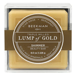 Lump of Gold Shimmer Beauty Bar 8 oz.