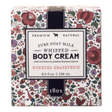 Honeyed Grapefruit Whipped Goat Milk Body Cream 8 oz