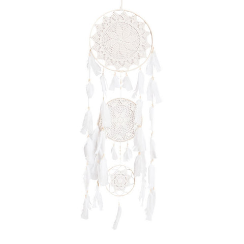 "Dream Catcher Trio Beige - D13.4"" x L47"""
