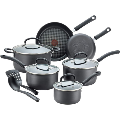12 Piece Ultimate Hard Anodized Nonstick Cookware Set