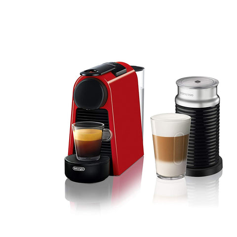 Essenza Mini Espresso Machine with Aeroccino by De'Longhi
