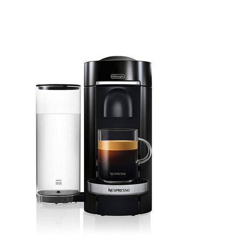 VertuoPlus Deluxe Coffee & Espresso Machine by De'Longhi, Black