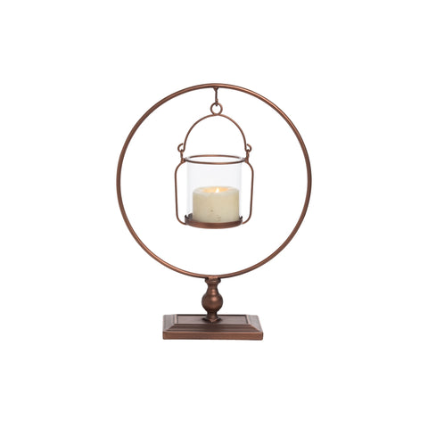 Hanging Votive Holder Copper