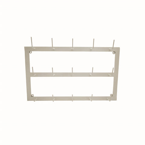 Wall Mug Rack, Beige