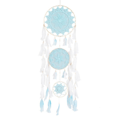 "Dream Catcher Trio Green Mint - D13.4"" x L47"""
